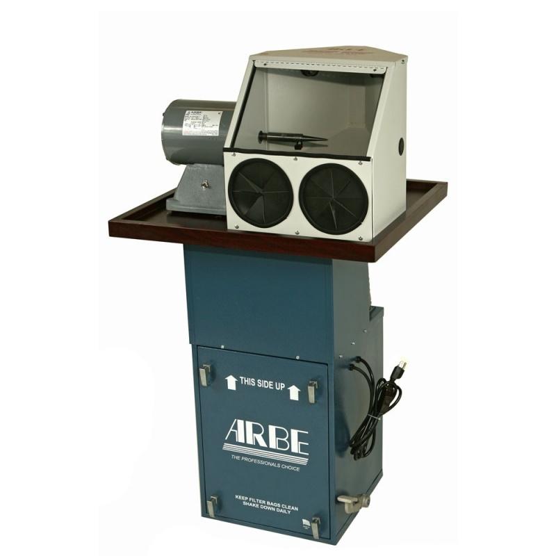 Arbe Machine™ Super-flow Single Hood Polishing System