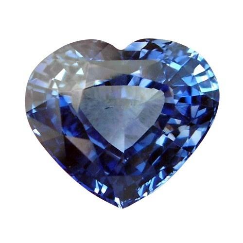 Heart Shape Synthetic Sapphire
