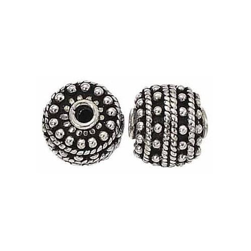 Sterling Silver Bali Bead - 12mm