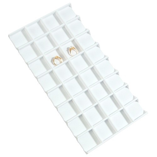 """32-Compartment Inserts For Full-Size Utility Trays, 14.13"""" L X 7.63"""" w"""