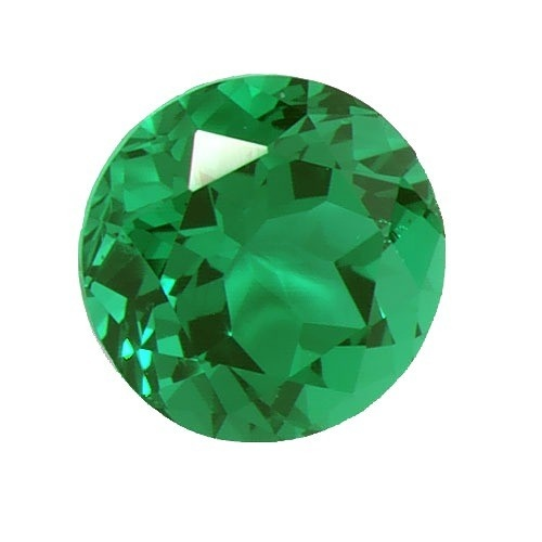 Synthetic Round Emerald