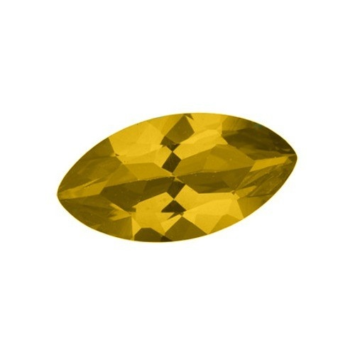 Marquise Synthetic Yellow Topaz