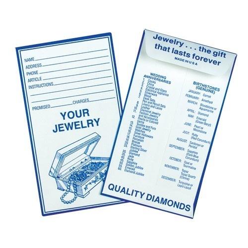 Blue Job Envelope