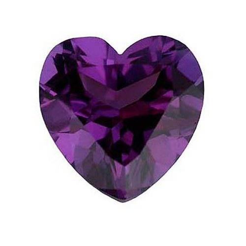 Heart Shape Synthetic Alexandrite