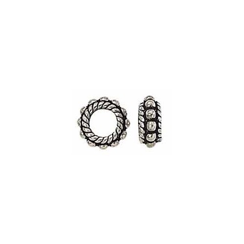 Sterling Silver Bali Bead Spacer - 8 Mm