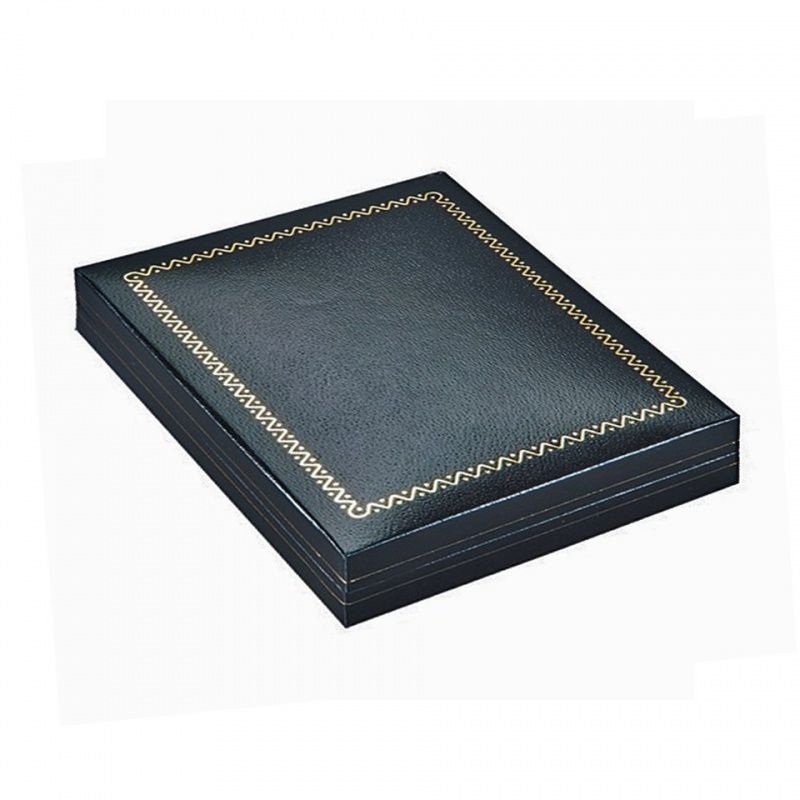 """Designer"" Large Necklace Box (Case/36 In 1-Pc. Slip)"