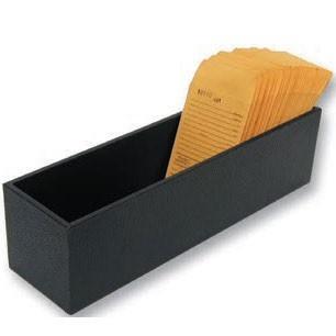 "Large Black Trays For Repair Envelopes, 4"" L X 14.75"" w"