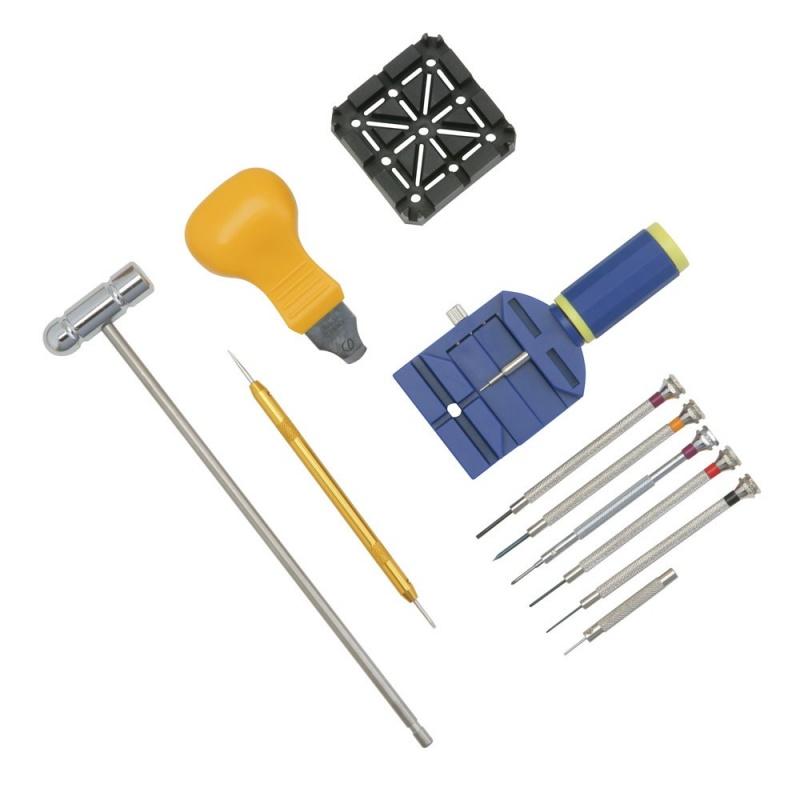 13-Piece Starter Watch Repair Tool Kits