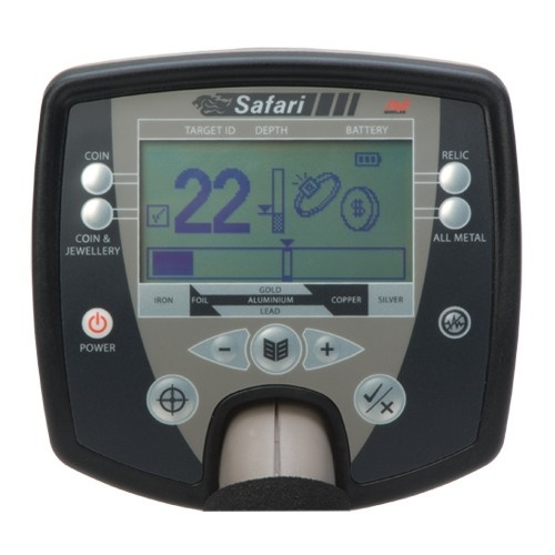 Safari Universal Minelab Metal Detector