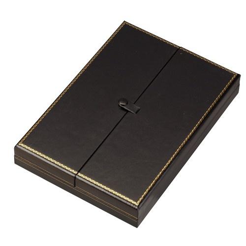 """""""Designer"""" 2-Door Necklace Box (2-Pc. Packer)"""