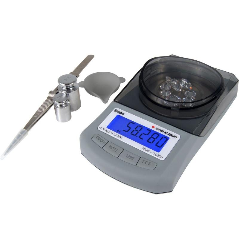 Gemoro Platinum® Pct251 Premium Carat Scale