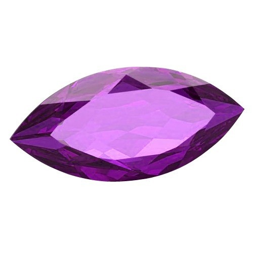 Marquise Synthetic Amethyst