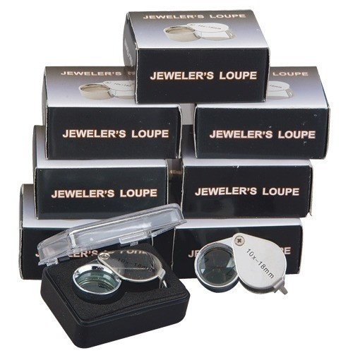 Promotional 18 Mm Loupe 10x Magnification