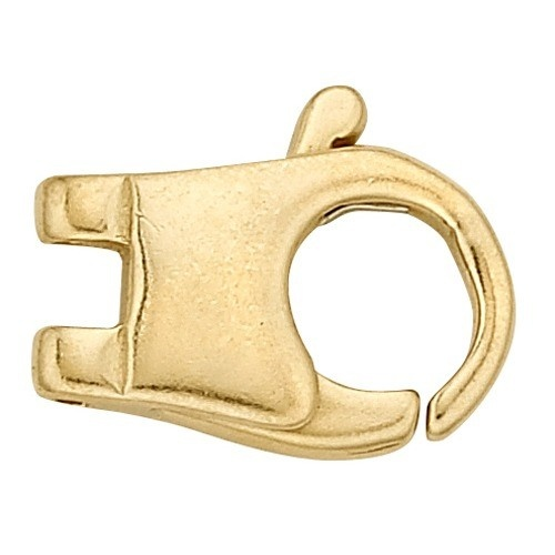 14K Yellow Gold Cast Clasp