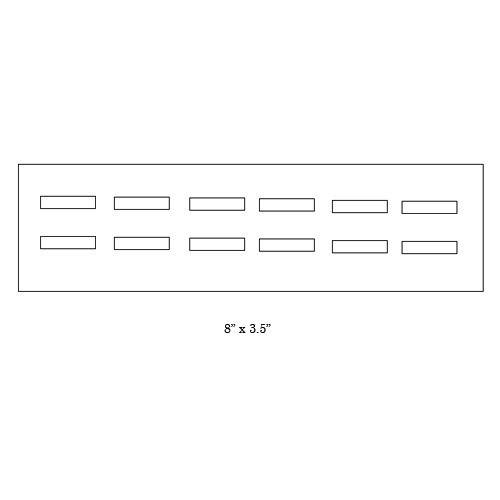 12-Ring Tray W/ Lid Interior