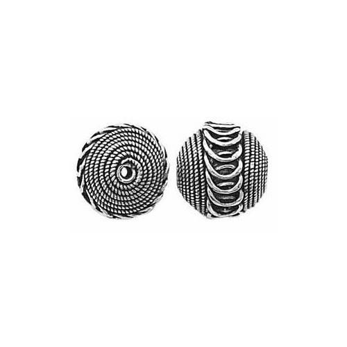 Sterling Silver Bali Bead - 13mm
