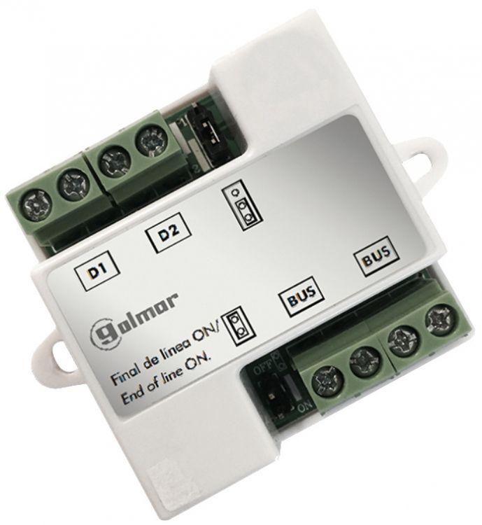 Monitor Run Splitter For Gb2 Series Video Intercom System. Each Splitter Handles 2 Monitors.