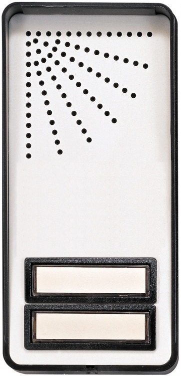2 Butt Economy Door Panel-surf. With Built-in 50-ohm Speaker Can Be Used With Optional #bec-3 Lamp Insert.