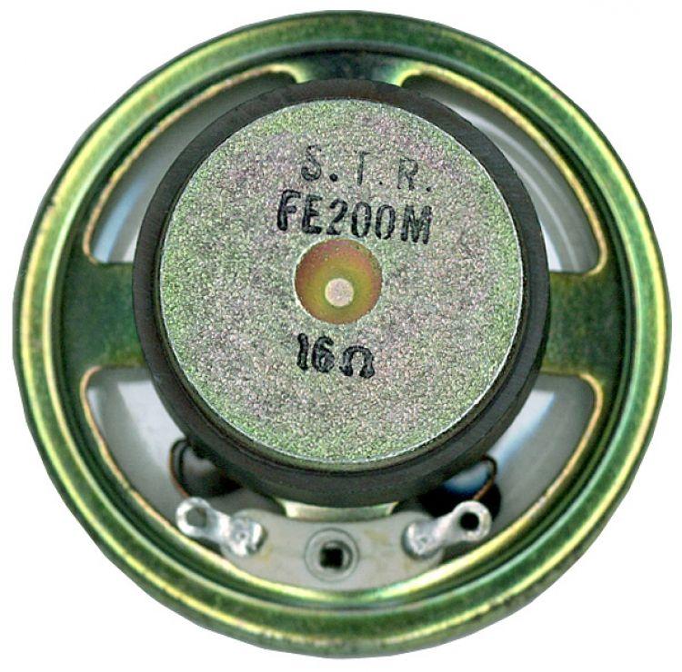 Str Speaker-50mm-16 Ohms-mylar. .
