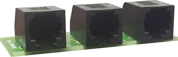 Alpha-page Serial Port Adapter. 1 Required Per Alpha-log System.