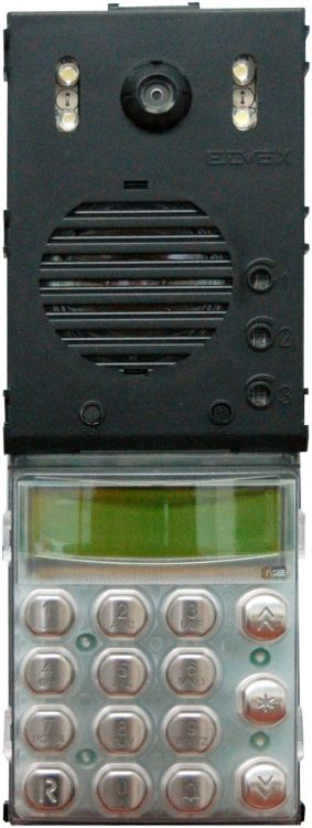 2wire Video Panel-elec-digital. Has Speaker /microphone And Digital Call Electronics For 2-wire System.
