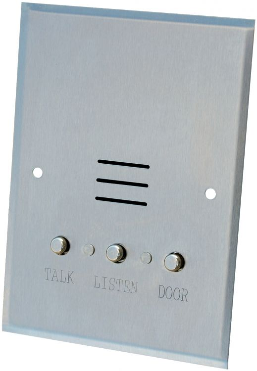 4 Wire Apt Stat-Met But-St.St.. Use With Ih101 Flush Back Box Or Ih102 Flush Mounting Ring Or Oh700 Surface Back Box