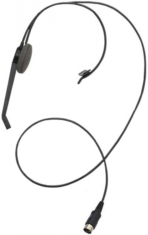 Optional Headset For 'h' Units. Used With The 'h' Type 'sc' Series Intercom Systems With 'h' Suffix.