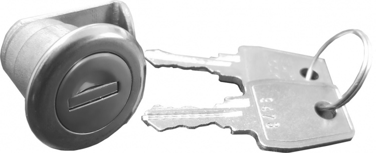 Replacement Kisw Kiosk Lock-rh. Used Only With The Kisw-i-18ss St. Steel Kiosk (right Handed) Each Lock Comes With 2 Keys.