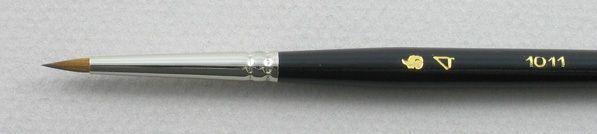 Trinity Brush Pure Red Sable 5011: Spotting Round Brush