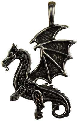 Celtic Dragon Amulet