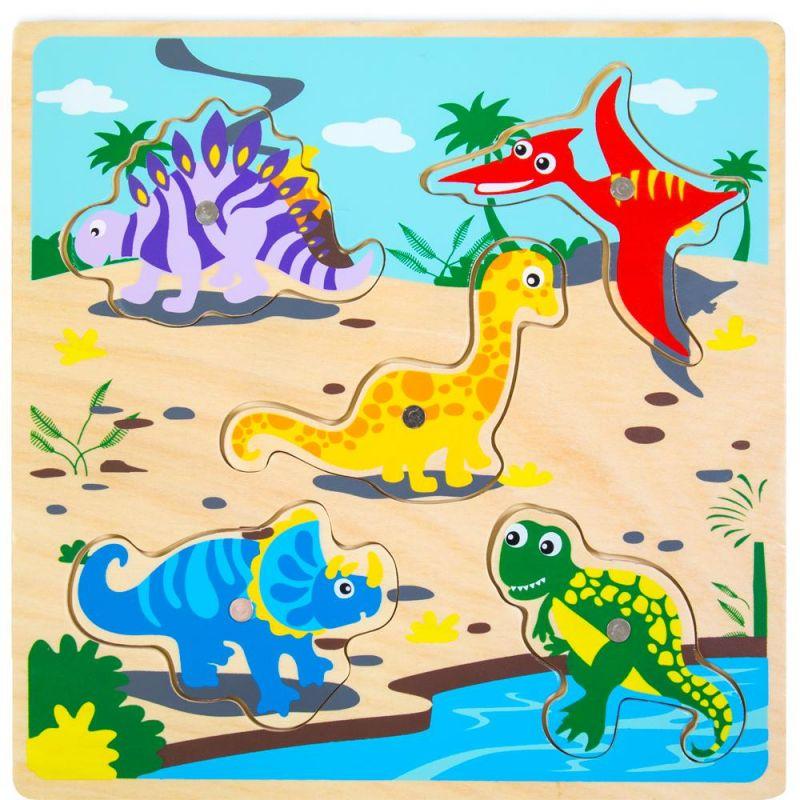 Lift & Look Magnetic Dino Catcher