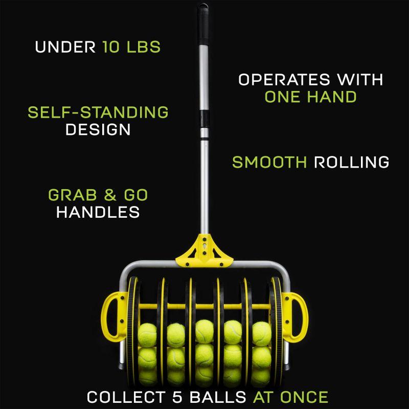 Ez Roller Tennis Ball Collector