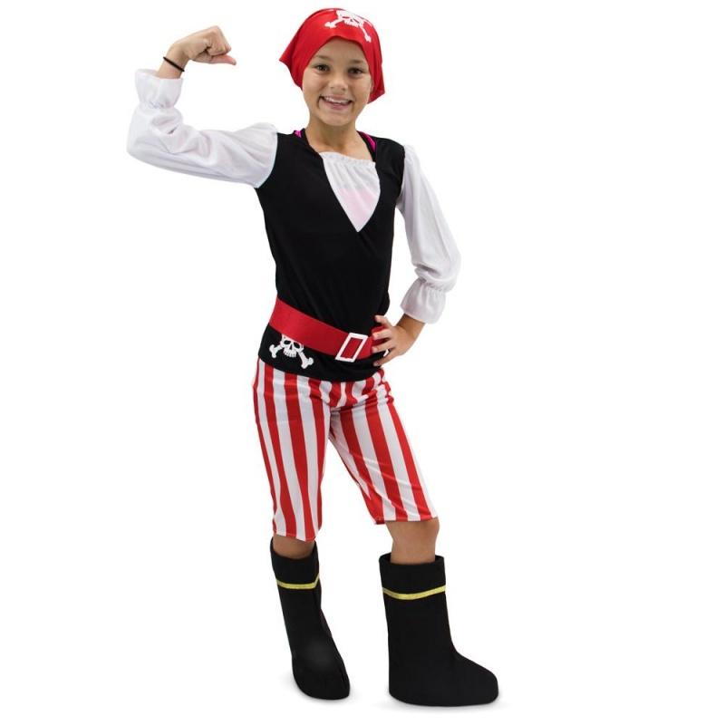 Children's Pirate Girl Costume