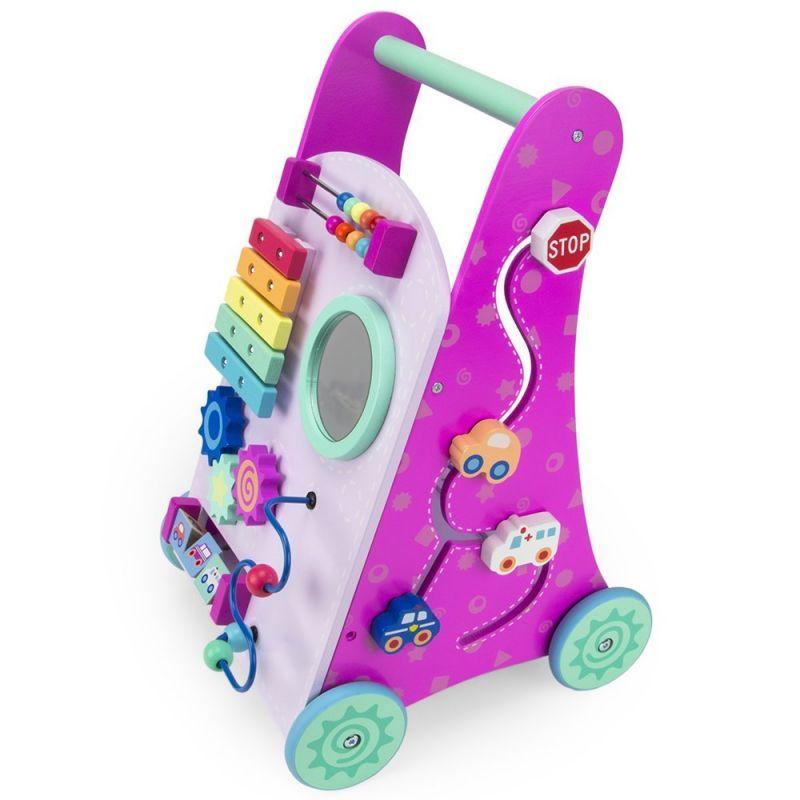 Pink Push-n-play Walker