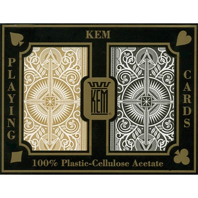 Kem Arrow Black/gold Wide Jumbo