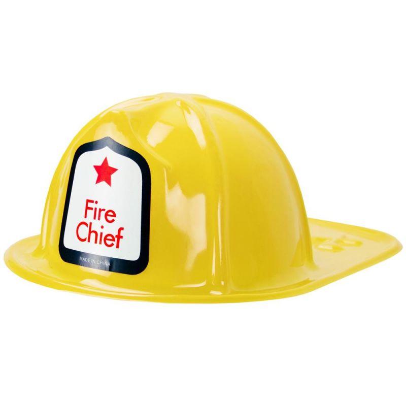 Yellow Fireman's Helmet