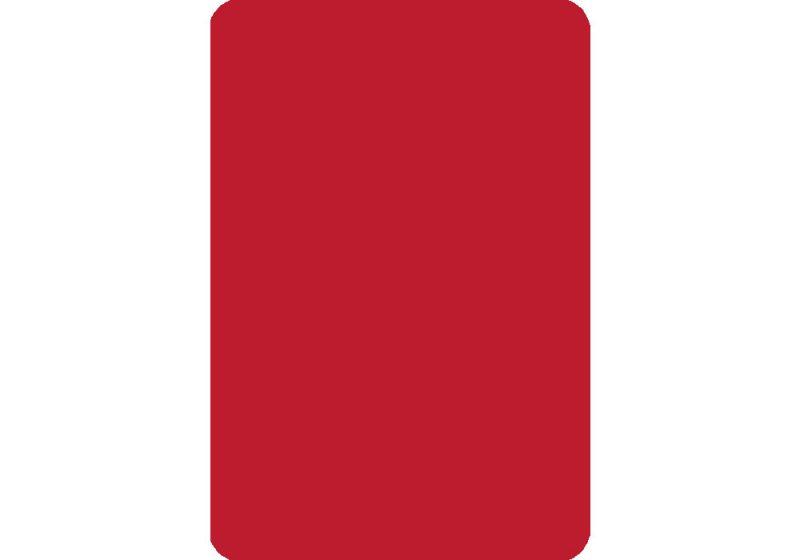 Cut Card - Bridge - Red