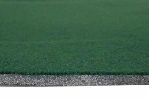 Green Padded Felt - 10 Ft Section