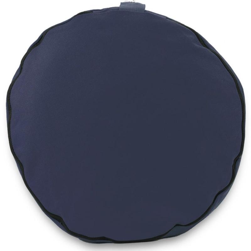 "Blue 15"" Round Zafu Meditation Cushion"