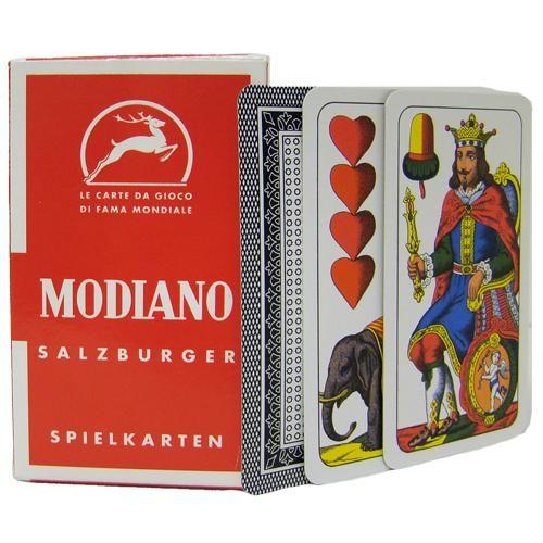 Deck Of Salzburger Italian Regional Playing Cards