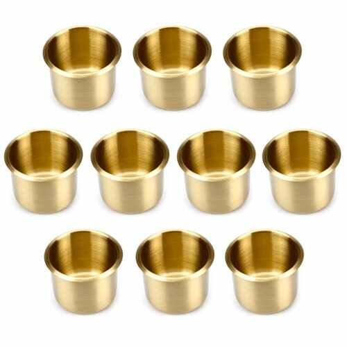 Brass Drop-in Cup Holder