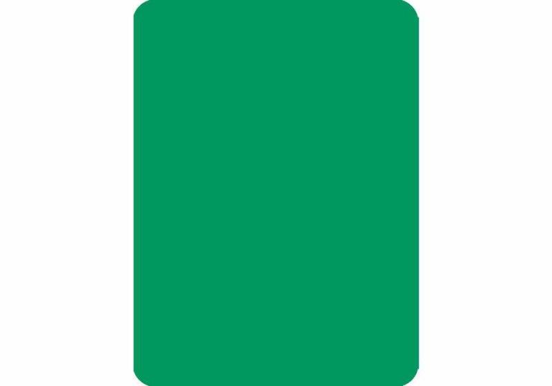 Cut Card - Poker - Green