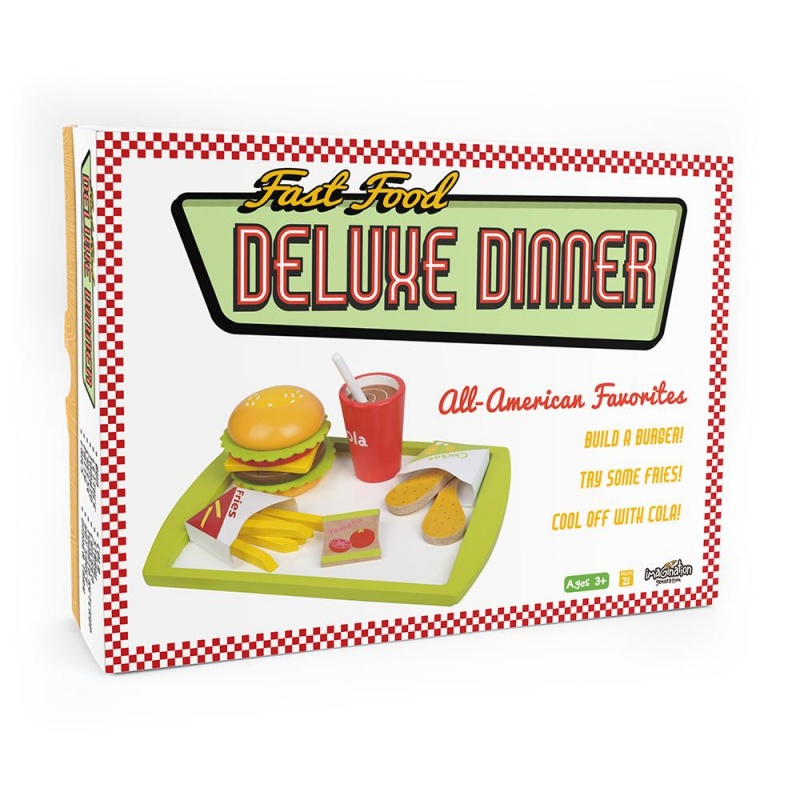 Fast Food Deluxe Dinner