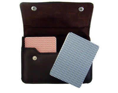 Export Poker Jumbo Leather Case
