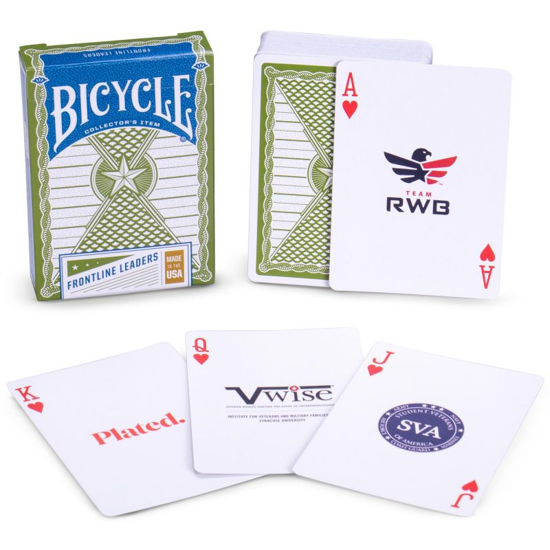 Bicycle Frontline Leaders Playing Cards