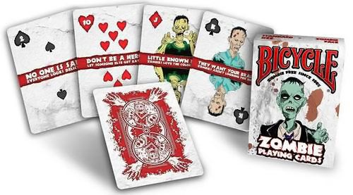 Inner Pack-bicycle Zombies Playing Cards - Inner Pack 6 Deck