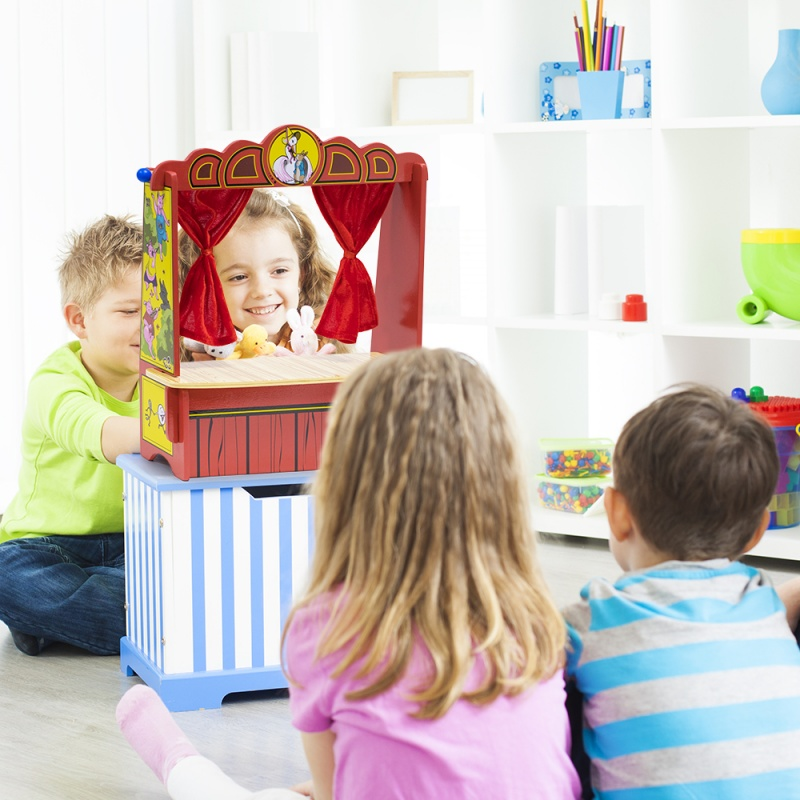 Mother Goose's Tabletop Puppet Theater