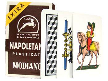 Deck Of Napoletane 97/38 Italian Regional Playing Cards