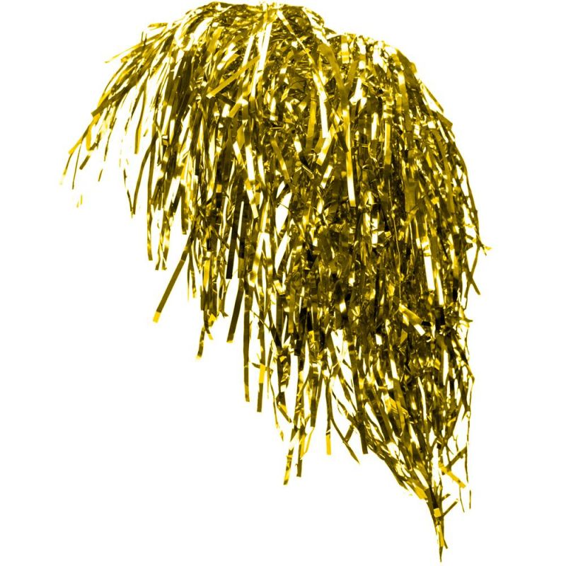 Tinsel Wigs 6-Pack, Gold