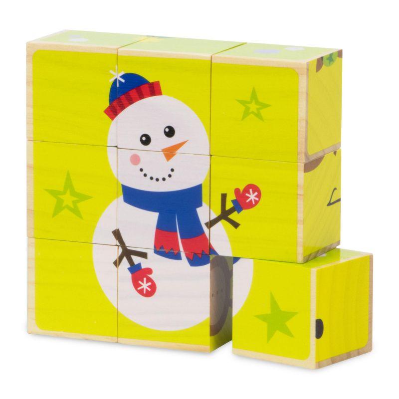 Christmas Puzzle Blocks